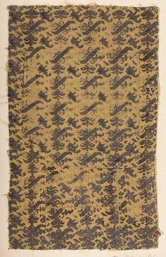 Fragment Date: 16th century Culture: Italian Medium: Silk Accession Number: 2002.494.13a, b
