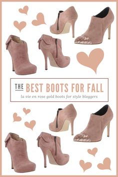 La Vie En Rose Currently Coveting Shopping list and guide for pink boots Pinterest via @BryJaimea bryjaimea.com