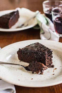 Torta al vino rosso e cioccolato - Teresa Balzano