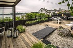 stilvolle Dachgarten-Design-Ideen , You are in the right place about patio roof Here we offer you the most beautiful pictures about the green roof you are loo Backyard Patio, Backyard Landscaping, Landscaping Ideas, Backyard Ideas, Inexpensive Landscaping, Wood Patio, Patio Roof, Design Jardin, Rooftop Garden