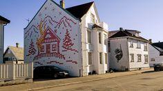 Street art in Stavanger, Norway.