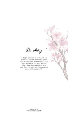 it's okay. Quote by Tiffany Moule Peace Quotes, Mom Quotes, Thank You Quotes, True Quotes, Words Quotes, Life Lesson Quotes, Its Okay Quotes, Self Love Quotes, Change Quotes