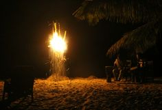 A wonderful night at Ezile bay Village