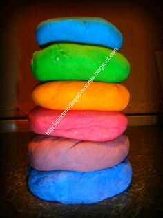 You, Me & The Mindee's: Homemade Playdough in 3 easy steps...