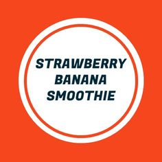 This vegan strawberry banana smoothie is oh-so-delicious & dairy-free, yet only made with 3 ingredients! Most smoothies use milk or yogurt but we prefer. Strawberry Banana Smoothie, Vegan Smoothies, 3 Ingredients, North Face Logo, Dairy Free, Simple, No Dairy