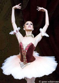 "Alina Somova in ""Paquita"". Photo by Gene Schiavone"