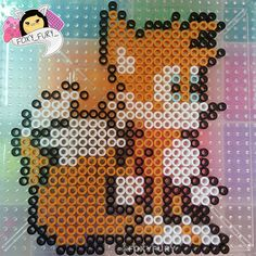 Tails perler beads by foxy_fury_