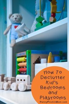 Is your kid's playroom a mess? We have an idea that can help you declutter both bedrooms and playrooms--it's a snap!