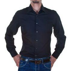 Producător: Calvin Klein Cod produs: CK12 Disponibilitate: În Stoc Camasa Calvin Klein Collection Compozitie: 100% bumbac Detalii: mânecă lungă, slim fit, Guler italian cu 1 buton Mansete: 1 buton Spălare 30 °