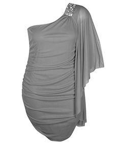 Fashion Bug Plus Size Grey Note Dress www.fashionbug.us #PlusSize #FashionBug