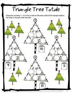 math worksheet : 1000 images about christmas math on pinterest  math christmas  : Christmas Maths Worksheets Ks1
