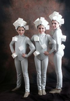 Sugar Cubes!  Adorable! Beauty & the Beast Costumes