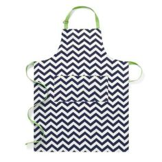Chevron Cotton Twill Apron | Kitchen Accessories | Home & Decor | Categories | C. Wonder. I can make this!!!!!