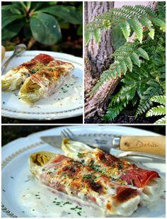 Endives au jambon Serrano et Gorgonzola - La cuisine de Doria