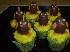 Easter cupcakes #2