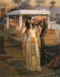 You got: Cleopatra of Egypt.  She was the last ruler of the Ptolemaic age in Egypt who had infamous relationships with Julius Caesar and Mark Antony. While many have discussed her seduction techniques (rolled up in a rug, anyone?), don't forget that Cleopatra was one of the strongest and most independent Queens in history so don't let anyone fuck with you.