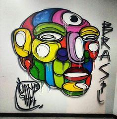 #iluminarte #faelprimeiro #streetart #graffiti