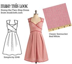(via MTL: Doing the Two-Step Dress - The Sew Weekly Sewing Blog & Vintage Fashion Community)