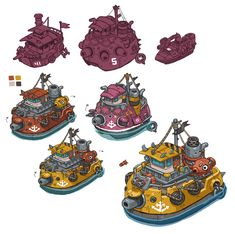 Awesome gunboats