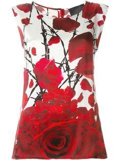 PHILIPP PLEIN 'Flower Power' Tank Top. #philippplein #cloth #top