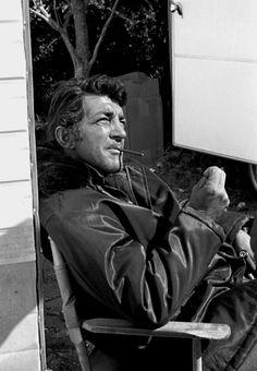 Dean Martin on the set of Bandolero /  AS1966