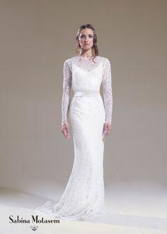 The Lily Raindrop dress – Sabina Motasem. A bias cut, backless, silk ...