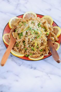 This pasta recipe is your pantry's best friend. It combines frozen peas, canned tuna, and pasta, and transforms it into a light and protein-packed dish you'll love reheating over and over. Recipe here.