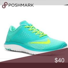Nike fitsole running shoes Barefoot inspired women's running shoe | breathable mesh | gently used | some wear (pictured) | great colors Nike Shoes Athletic Shoes