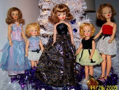 the Tammy doll in the black dress was a Christmas present to me in 1963 when I was 9 years old.