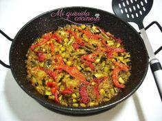 Arroz con verduras al horno ~ Mi querida cocinera