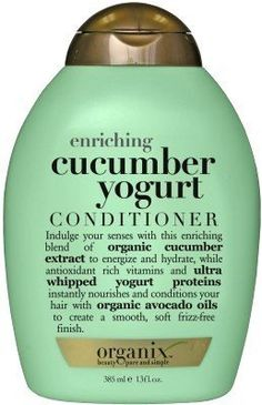 Conditioner (Enriching) (Combo Deal) by Organ Natural Hair Care Tips, Natural Hair Styles, Cucumber Yogurt, Good Shampoo And Conditioner, Best Hair Care Products, Best Shampoos, Hair Skin Nails, Natural Shampoo, Hair Health