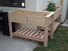 Garden Wooden Raised Beds On Legs Image Of Planter Boxes Gardening Bed How To Build A With Youtube Elevated Drainage Waist High Plans