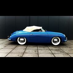 ❦ Blue Porsche 356