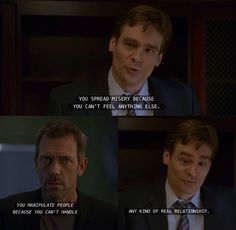 Wilson and House insult each other like real good friends :D