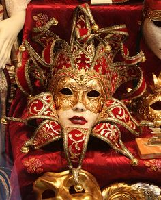 Série de Máscaras de Veneza - 13-01-09 - IMG_20090113_ 9999_165 by Flávio Cruvinel Brandão, via Flickr