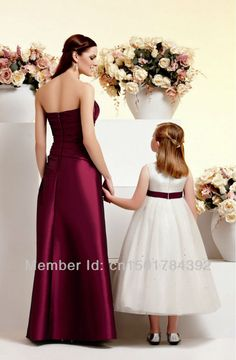 Bridesmaid & Flower girl Dress Comb $289.00