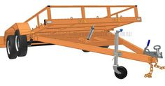 Flatbed Tipping Trailer PLANS - Build your own Flatbed TIpping Trailer www.trailerplans.com.au