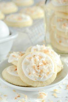 Coconut Meltaway Cookies
