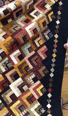 Hello Everyone, It& time for me to get you, and myself all caught up after an extremely busy week of teaching and a guild lecture. Bargello Quilts, Jellyroll Quilts, Scrappy Quilts, Quilt Block Patterns, Quilt Blocks, Quilting Projects, Quilting Designs, String Quilts, Fall Quilts