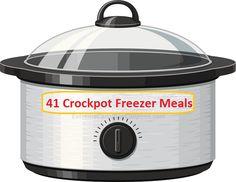 41 freezer crockpot meals