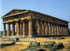 Ancient Greek Architecture Poseidon Temple