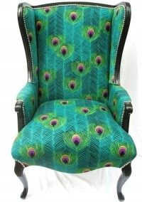 Peacock chair - VANNA would love this chair!