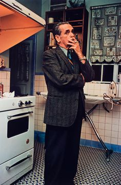 Untitled (Man smoking), 1970-1973 Dye Transfer Print 20 x 16 inches