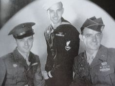 Shifty Powers (to the right) with his brothers Jimmy and Barney