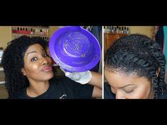 Hey Checkout How I Dye My Natural Hair Jet Black!~Part 1~ PiecesofNika - YouTube #naturalhair #teamnatural #curlyhair #howtodyehair #jetblackhair