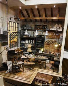 2017. Miniature Dollhouse Vintage Shop By Kiyomi (Petipetit)