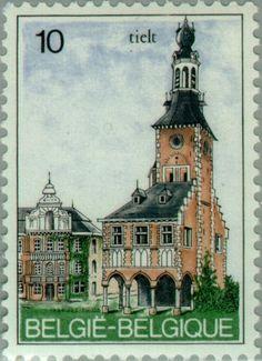 Stamp: Tielt (Belgium) (Tourism) Mi:BE 2192,Sn:BE 1176,Yt:BE 2140,Sg:BE 2795,AFA:BE 2193,Bel:BE 2139