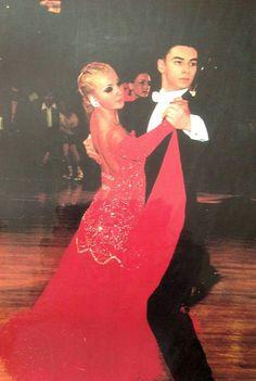 Aidan at 16 in a ballroom dance contest