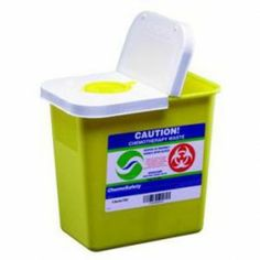 Covidien SharpSafety Chemotherapy Sharps Containers  - Price ( MSRP: $ 199.67Your Price: $164.52Save up to 18% ).