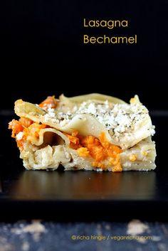 Lasagna Bechamel - A delicious Thanksgiving entrée of the Indian persuasion.